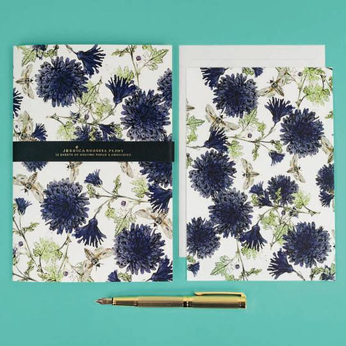 Jessica Russel Flint Writing Paper and Envelope Set 'Botanical Bees'