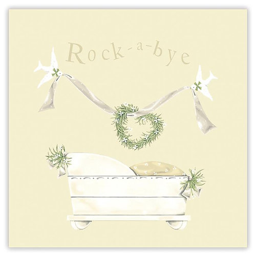Rock-A-Bye Greetings Card