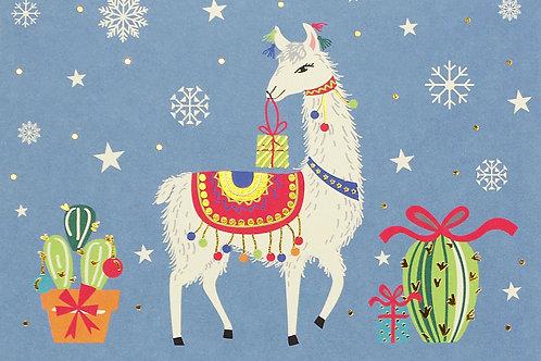 Festive Llama Card Pack
