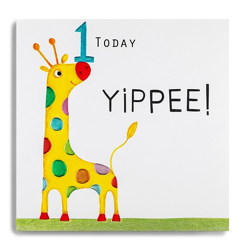 1 Today Yippee! Birthday Card