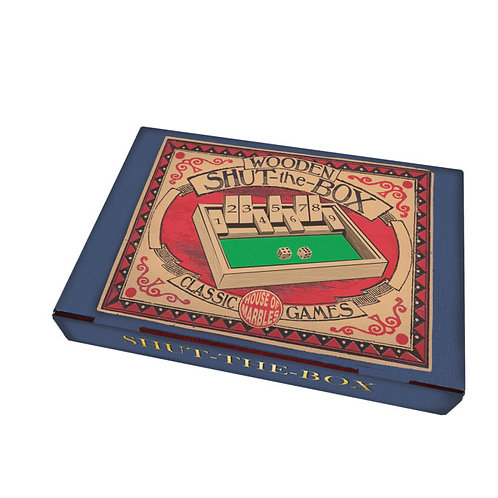 Wooden Shut the Box - House of Marbles