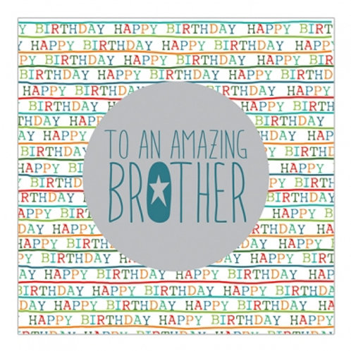 To An Amazing Brother