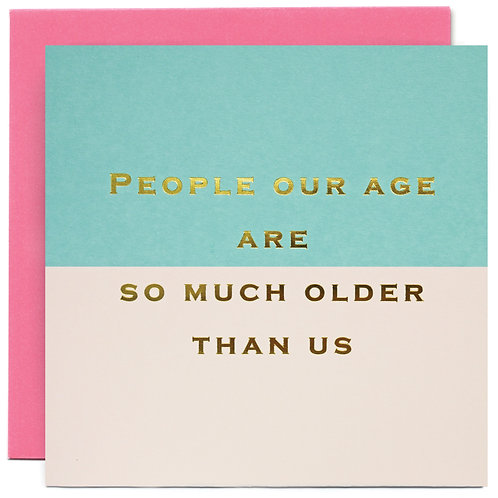People Our Age