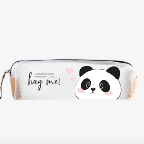 Panda Transparent Pencil Case