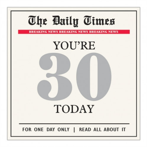 30 Daily Times