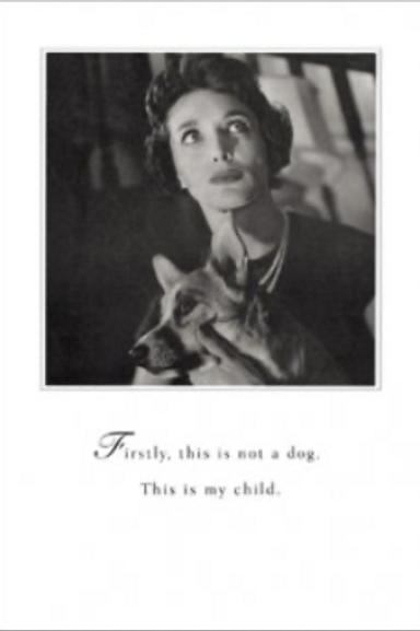 Dog Child Card