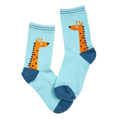 Childrens Giraffe Socks