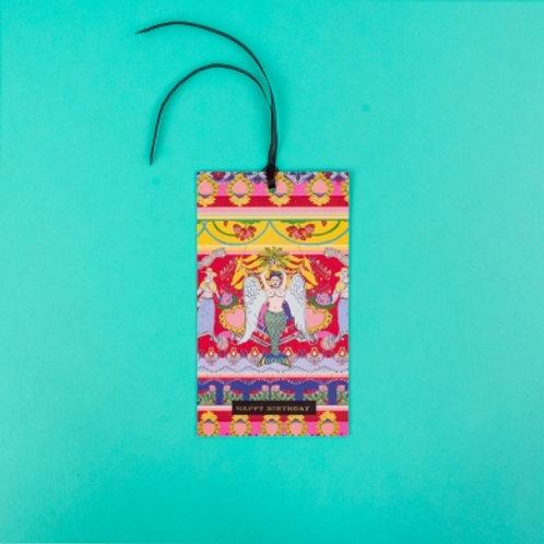 Happy Birthday Mer-Angel Hanging Card