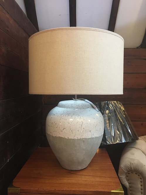 Stone Lamp with Shade
