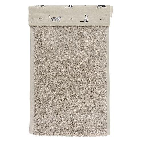 Purrfect Roller Hand Towel