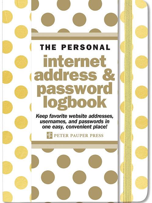 Gold Dots Internet Address & Log Book