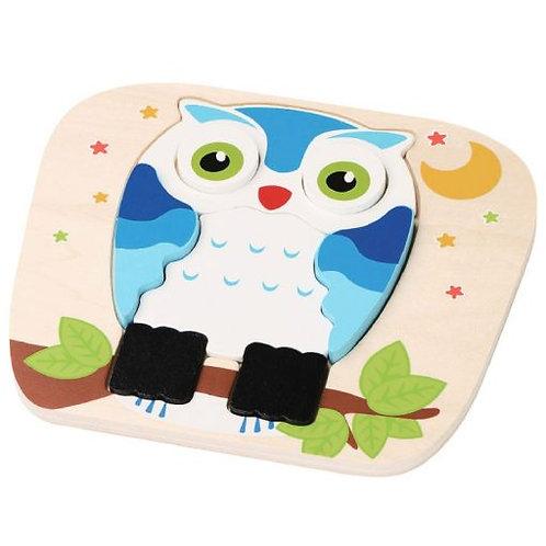Owl Raised Puzzle
