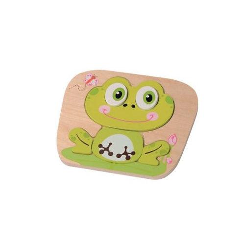 Frog Raised Puzzle