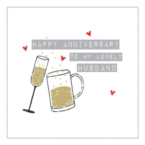Happy Anniversary To My Lovely Husband