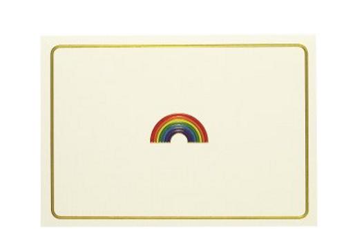 Rainbow Notecards