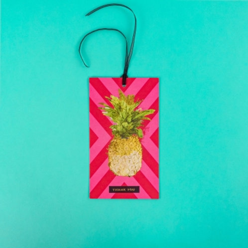 Thank You Pineapple Hanging Card