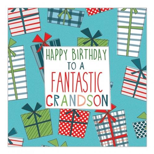 Happy Birthday To A Fantastic Grandson