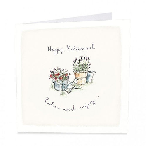 Relax and Enjoy Retirement Card