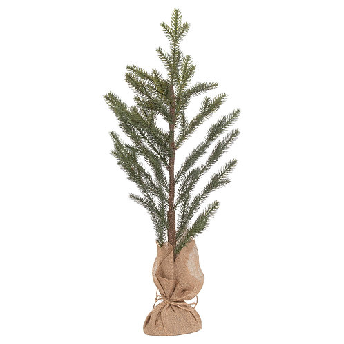 The Noel Collection Artifical Pine Tree In Hessian Pot