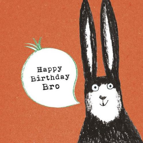 Birthday Turnip (brother) Card