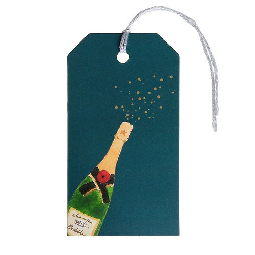 Bubbles & Fizz Gift Tags (Set of 8)