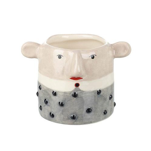 'Norman' Ceramic Planter Small