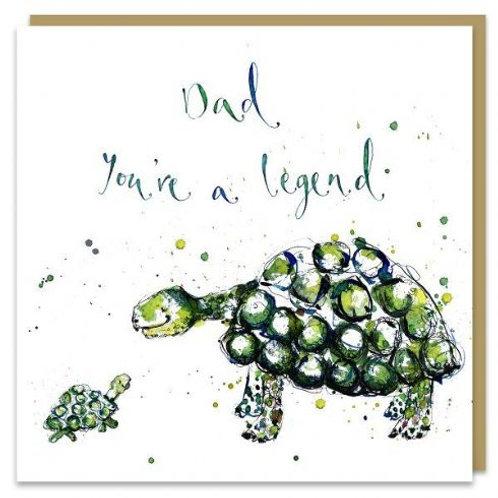 Dad You're A Legend Card