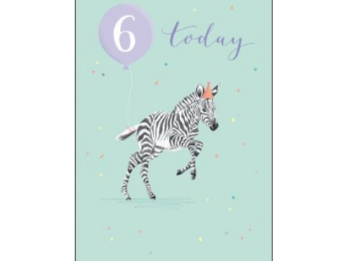 6 Birthday Card