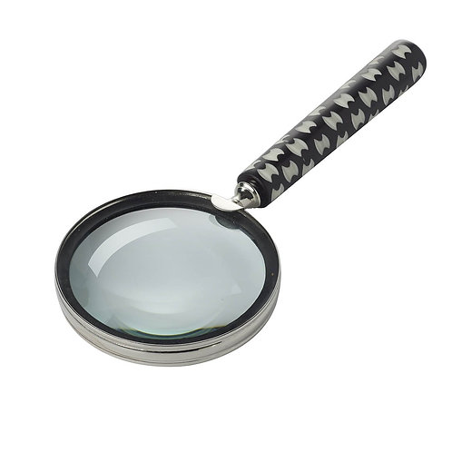 Black Ivory Etched Magnifying Glass