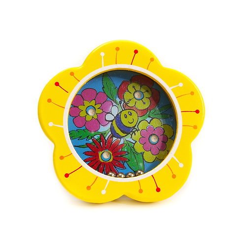 Pinball Puzzle Tip and Tilt Funny Flowers - House of Marbles