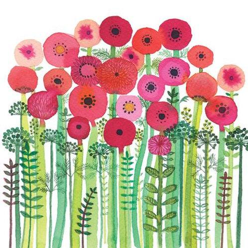 Autumn Garden Card