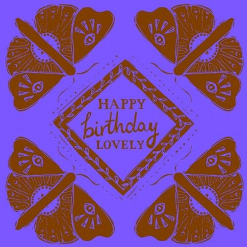 Happy Birthday Lovely
