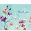 Thumbnail: Fuchsia Blooms Thank You Notes