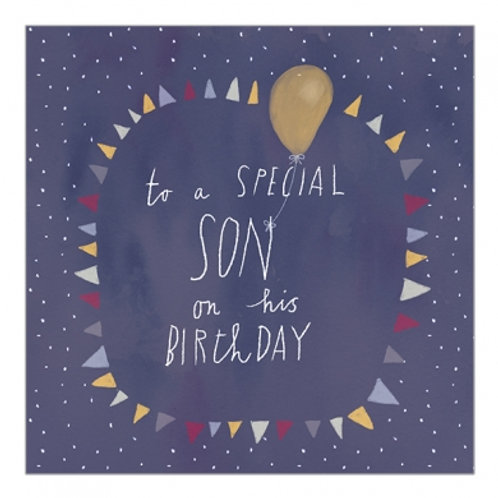 To A Special Son On His Birthday