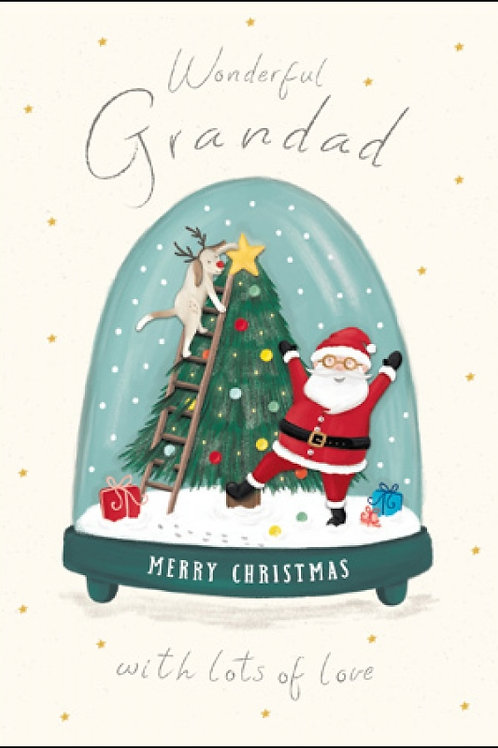 Wonderful Grandad Snowglobe