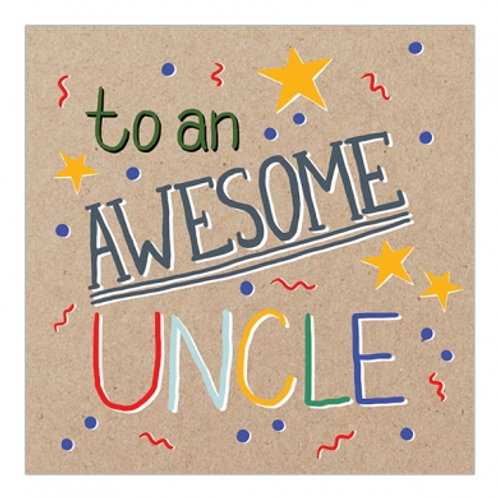 To An Awesome Uncle