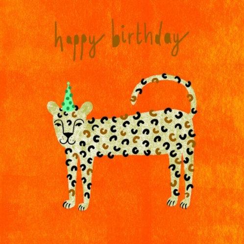 Happy Birthday Leopard