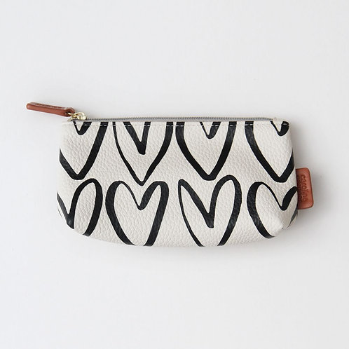 Heart Handbag Cosmetic Bag