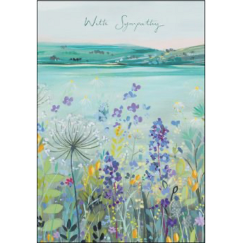 Beautiful View Sympathy Card