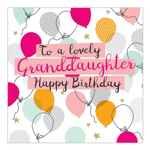 To A Lovely Granddaughter