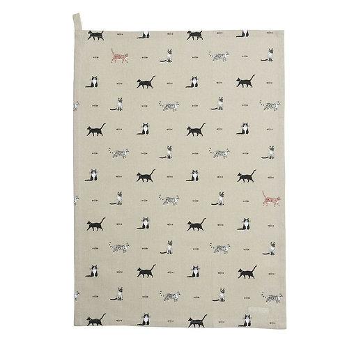 Purrfect Tea Towel