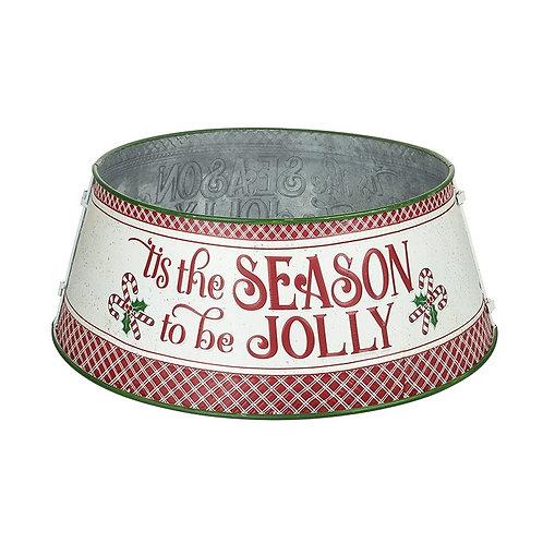 Tis The Season To Be Jolly Tree Skirt