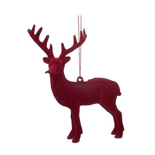 Velvet Hanging Deer