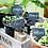Thumbnail: Slate Set of Six Greenhouse Tags with Chalk