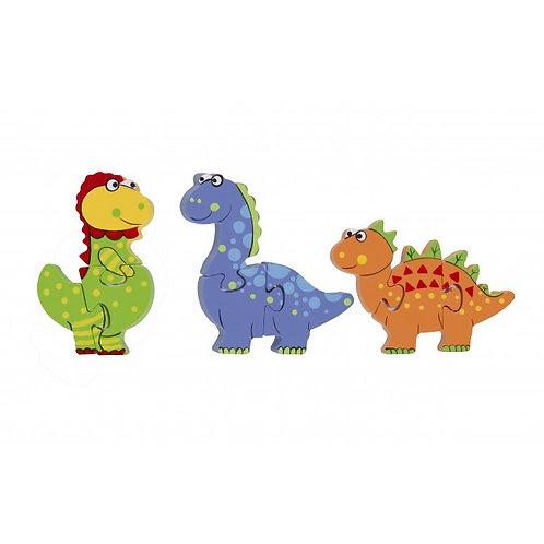 Dinosaur Mini Puzzle Set