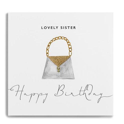 Lovely Sister Happy Birthday Handbag
