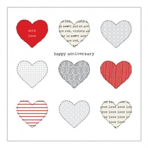 Happy Anniversary Hearts