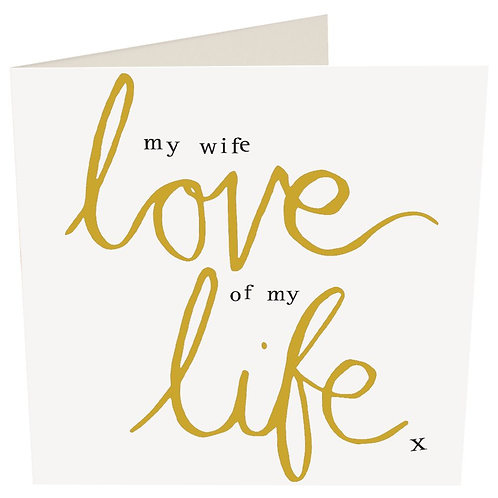 My Wife Love Of My Life