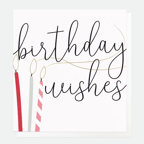 Birthday Wishes Candles