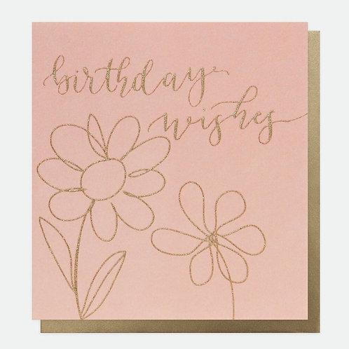 Birthday Wishes Flowers